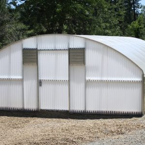 20' cold frame greenhouse