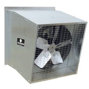 GALVANIZED SLANTWALL EXHAUST FANS